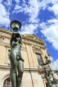 Statue Opéra Garnier