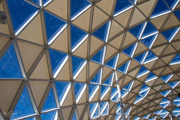 Prado Shopping à Marseille, la canopée