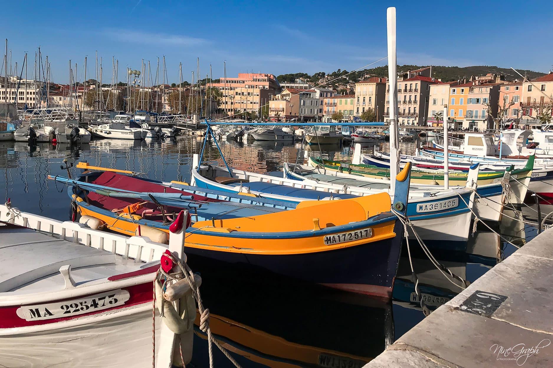 Le vieux port de La Ciotat