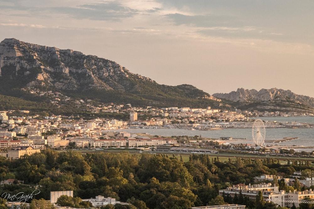Marseille, vue du Grand-Pavois