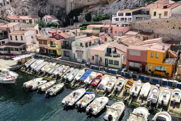 Le port du Vallon des Auffes à Marseille