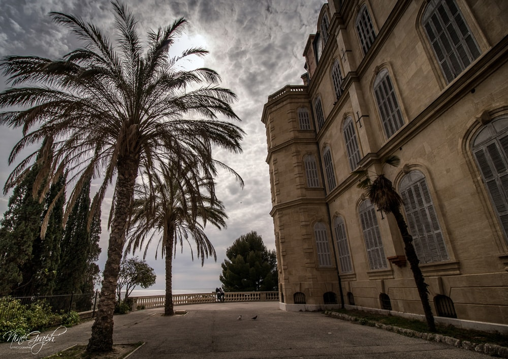 La villa Valmer sur la corniche Kennedy à Marseille