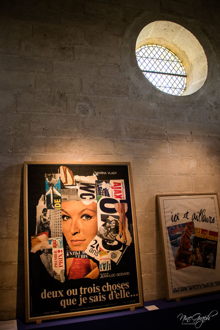 Abbaye de Montmajour, Rencontres Arles 2018 (exposition Godard Picasso), lors du MeetMyProvence avec le CMN
