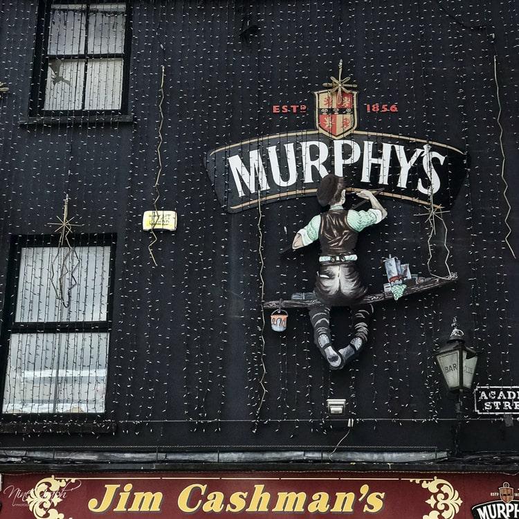 Façades Murphy's à Cork, en Irlande, 2018