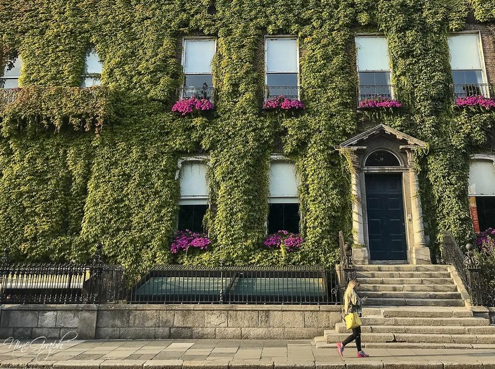 Les façades originales irlandaises