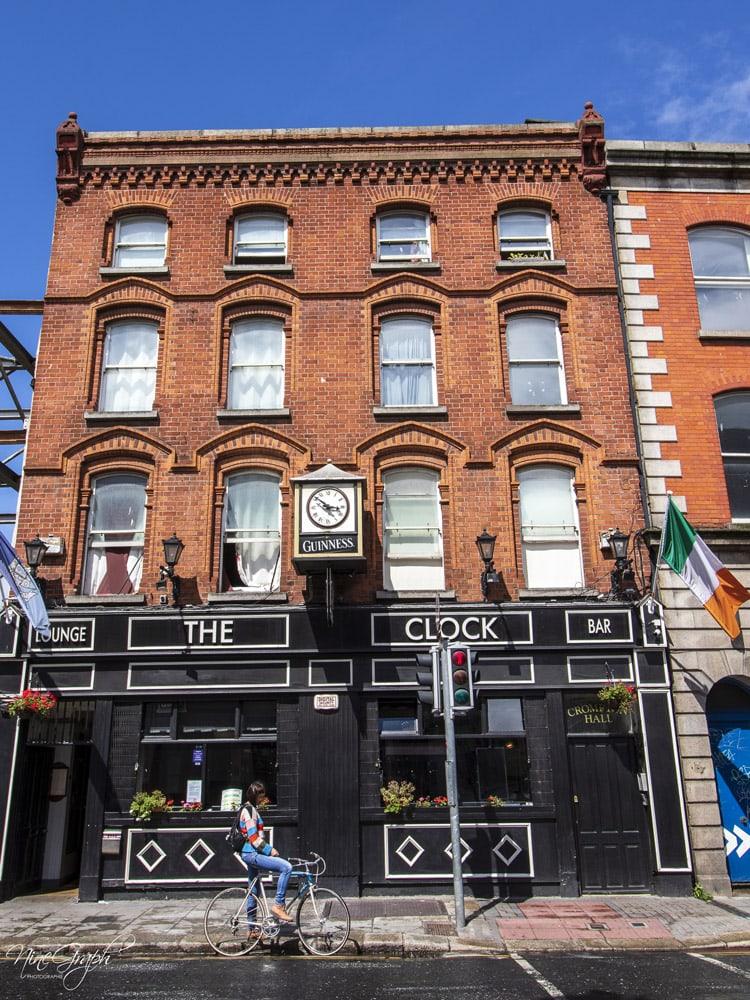 Façades à Dublin, en Irlande, 2018
