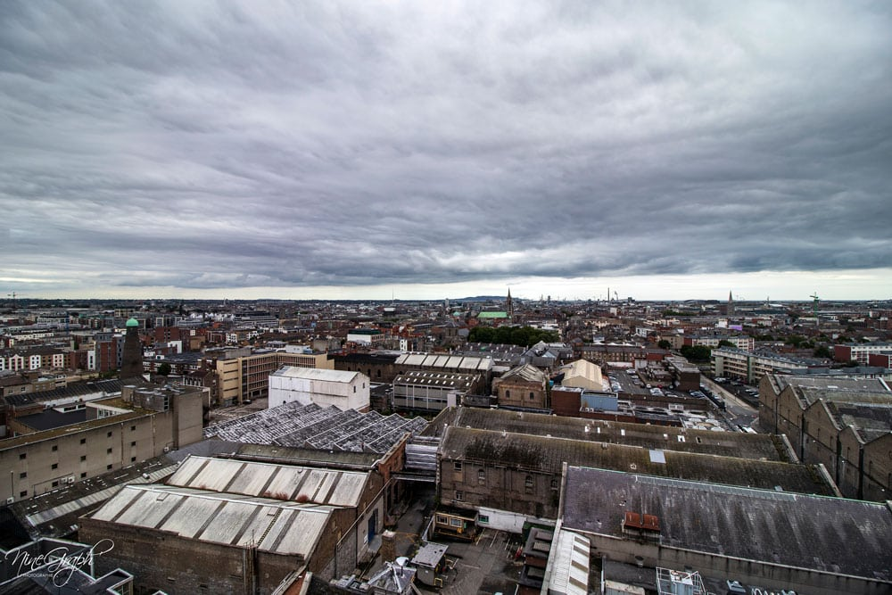 Gravity Bar à la Guinness storehouse, Dublin, Irlande, 2018