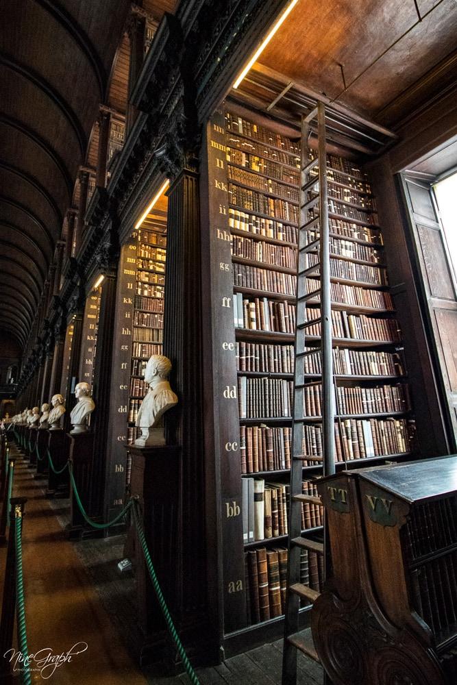 Trinity College, Dublin, Irlande, 2018