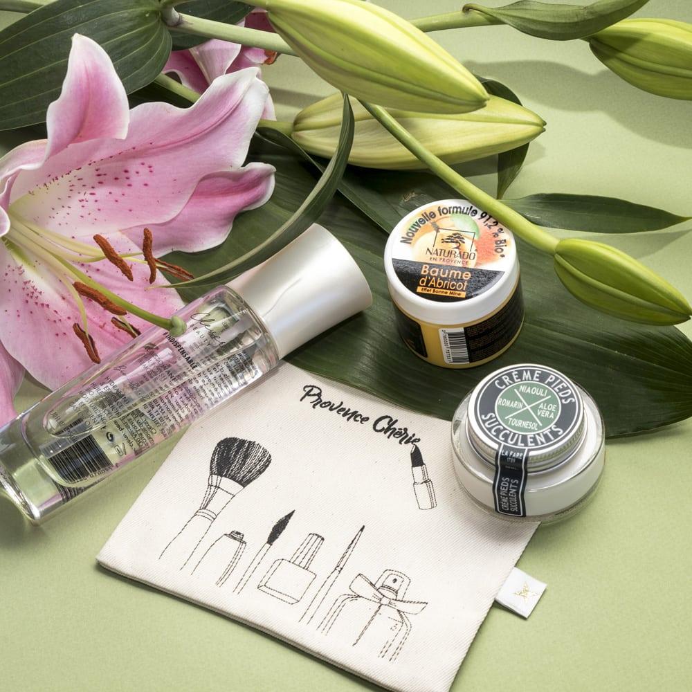 Packshot Box Sept Provence Chérie par NineGraph