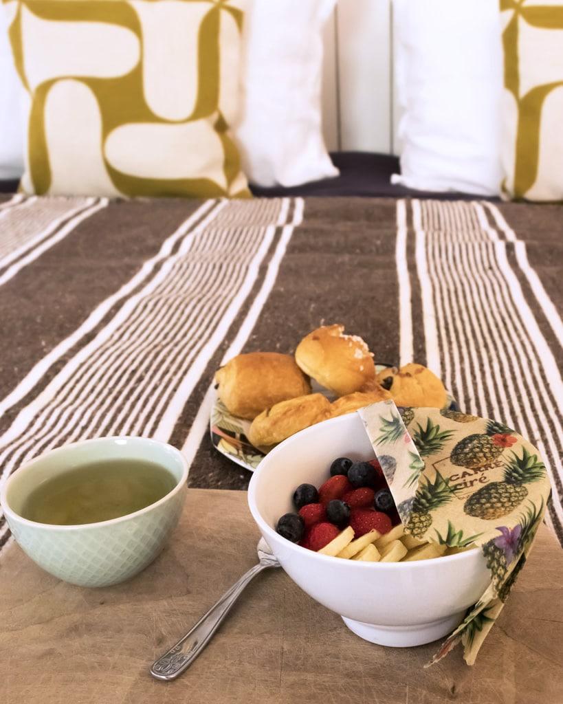 Stylisme photo Carré Ciré par NineGraph, le petit déjeuner