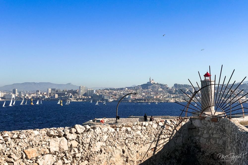 Marseille de lîle d'If