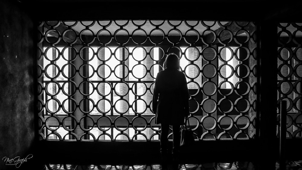 Monochrome, Intérieur Cité Radieuse à Marseille - Monochrome