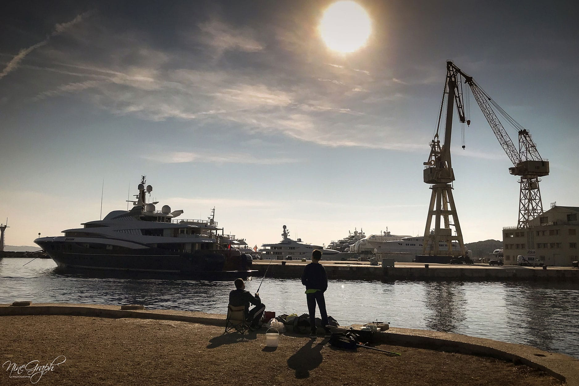 Pêcheurs au port de La Ciotat