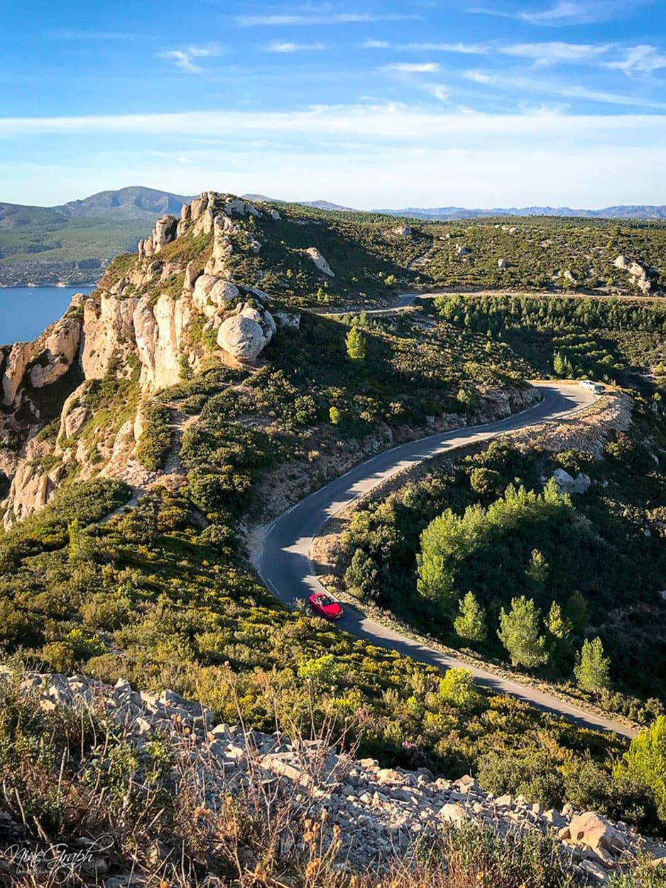 La route des Crêtes, de La Ciotat à Cassis
