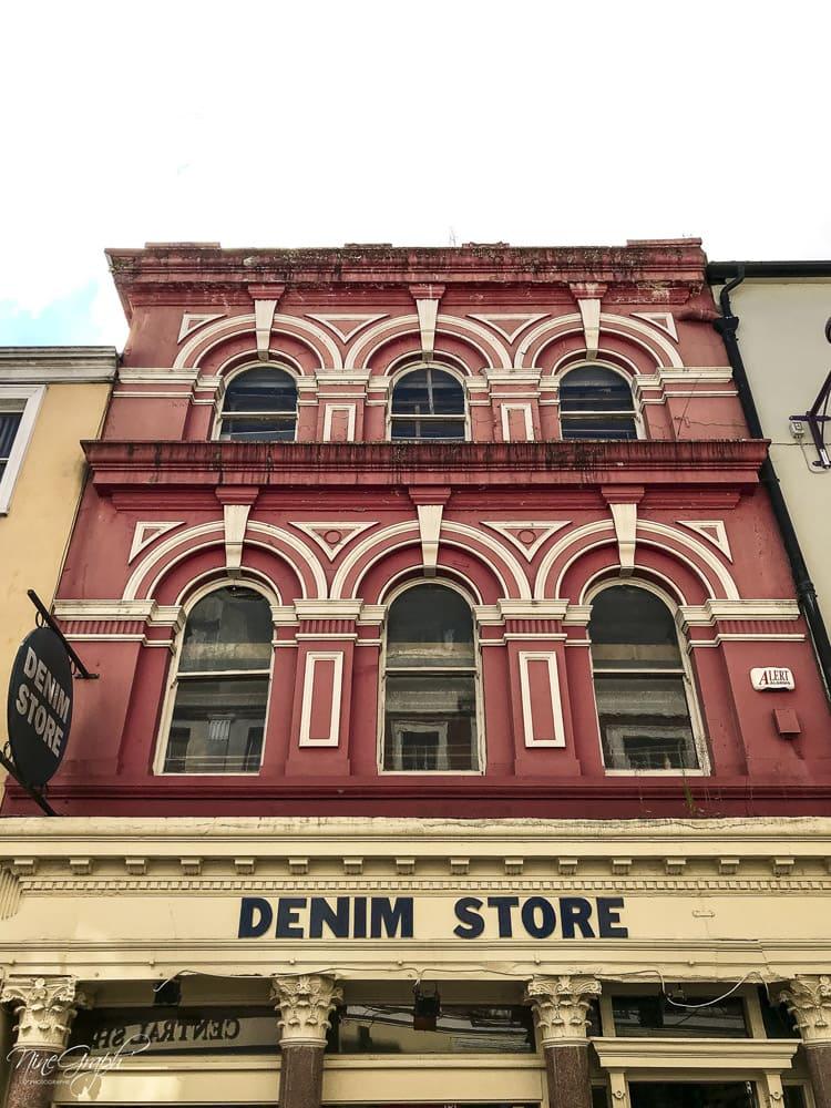 Façades Denim Store à Cork, en Irlande, 2018
