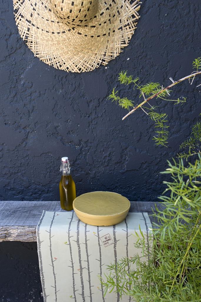 Stylisme photo Carré Ciré par NineGraph, la cire
