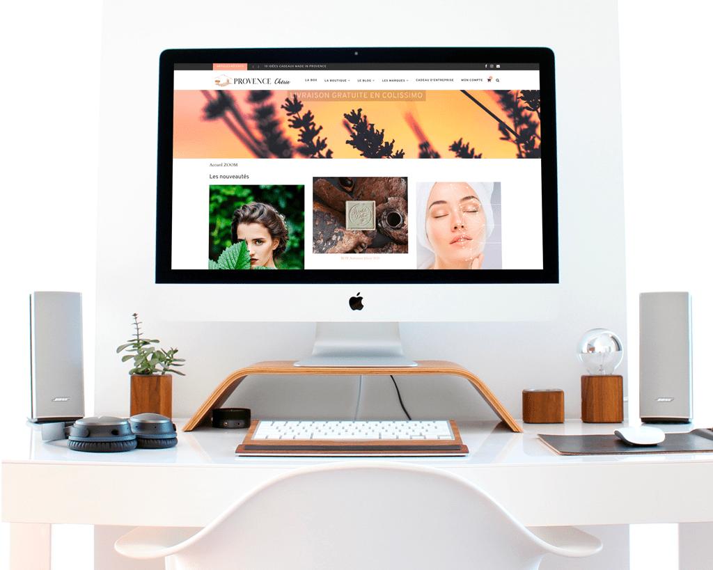 Webdesign Provence Chérie - NineGraph